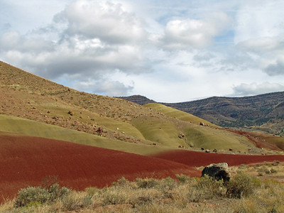 John Day Fossil Beds National Monument, Oregon (Painted Hills Unit) (20)