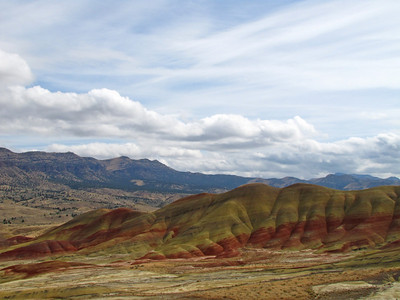 John Day Fossil Beds National Monument, Oregon (Painted Hills Unit) (21)