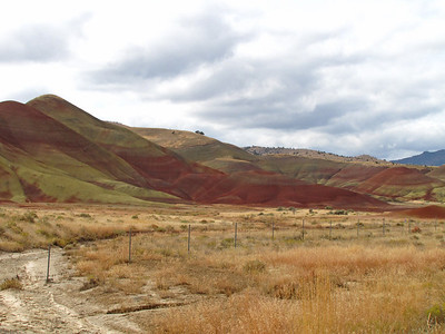 John Day Fossil Beds National Monument, Oregon (Painted Hills Unit) (15)