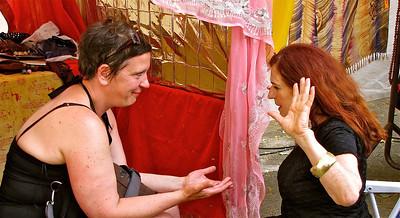 a palm reader - fortune teller