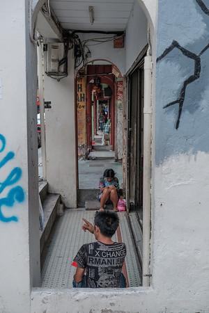 KL alleyway