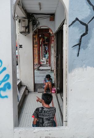 Street alley