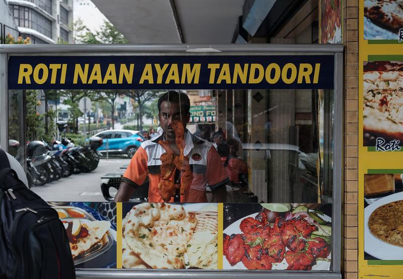 The Tandoori man
