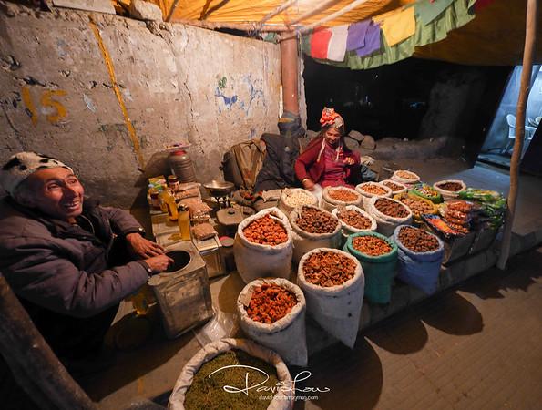 Street vendor in Leh