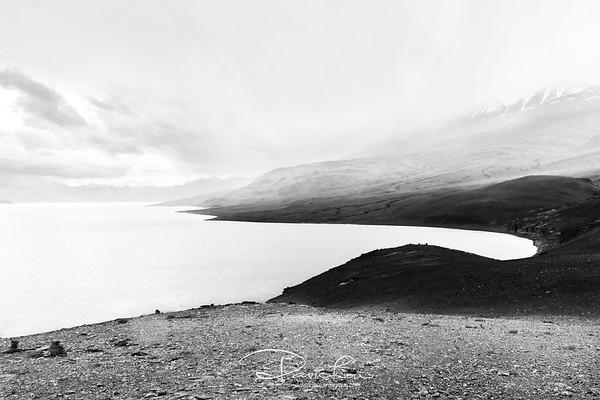 A  lake in Tsomoriri