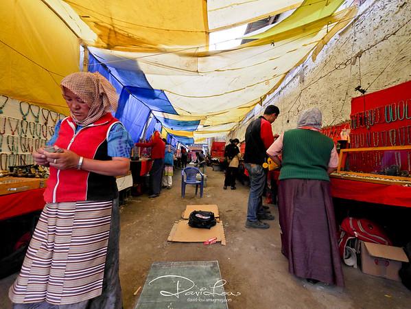 Leh - a small street bazaar