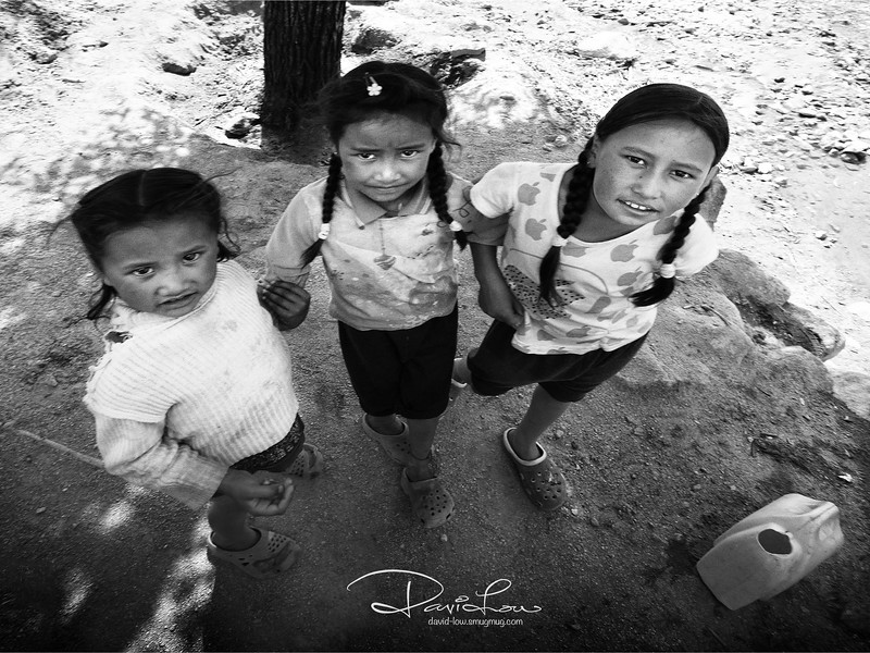 Ladakhi kids
