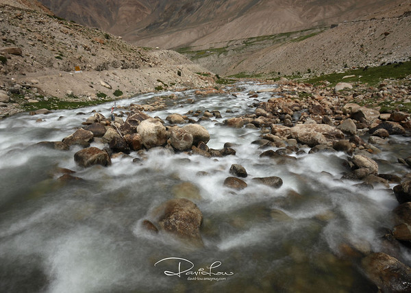 A stream enroute to Ladakh