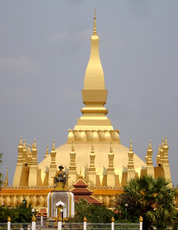 That Luang, Vientiane - the symbol of Laos