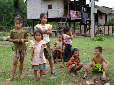 village kids, Laos 2007