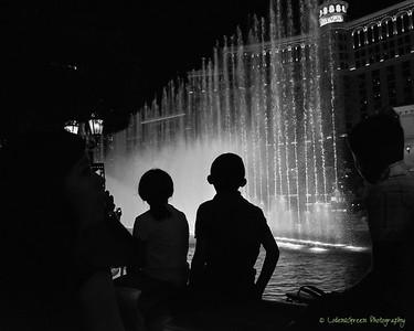 Bellagio water fountain show, Las Vega, Nevada.