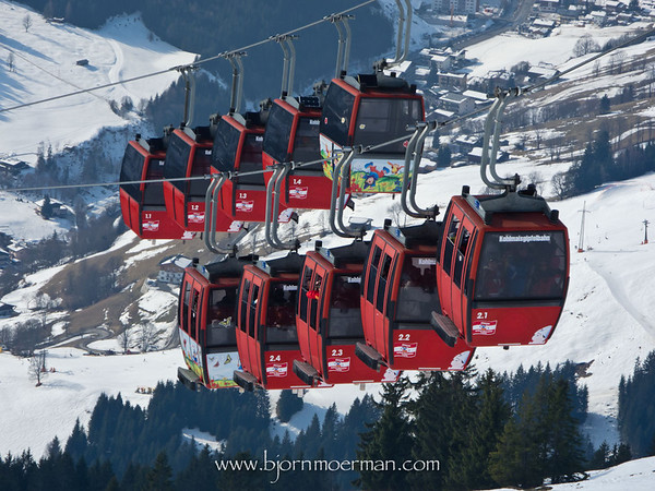 Kolmais cable car lift