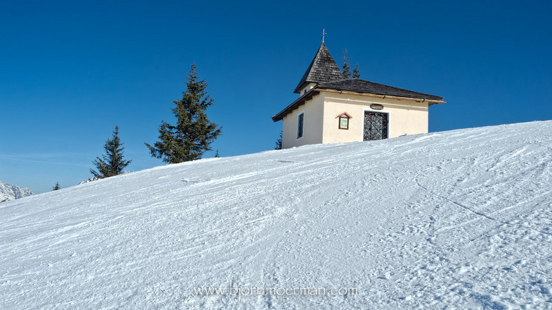 Small church at Saalbach-Leogang