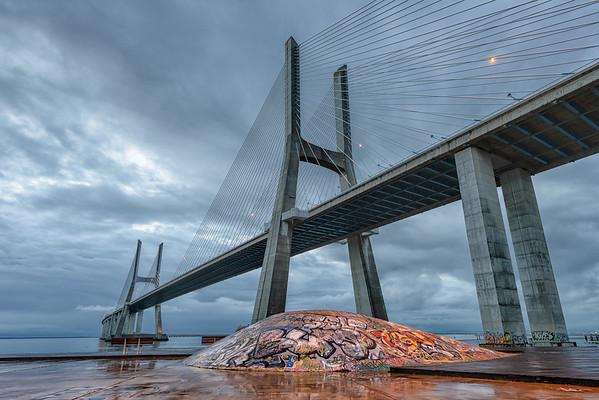 Vasco da Gama bridge, Lisbon