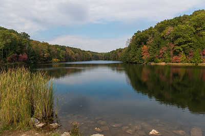 Rose Lake Hocking Hills State Park