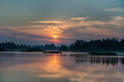 Sunrise at Seney National Wildlife Refuge
