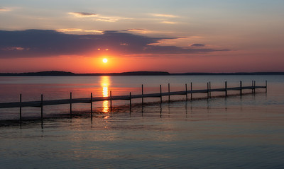 Lake Manistique Sunset