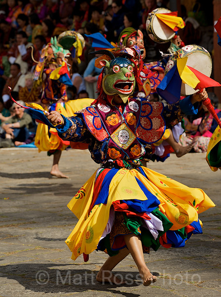 DANCE OF THE DRUMS, CHAM DANCER