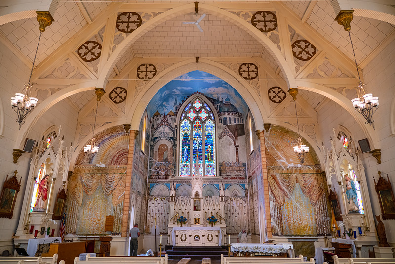 RESTORED ASSUMPTION CATHOLIC CHURCH, FERNDALE