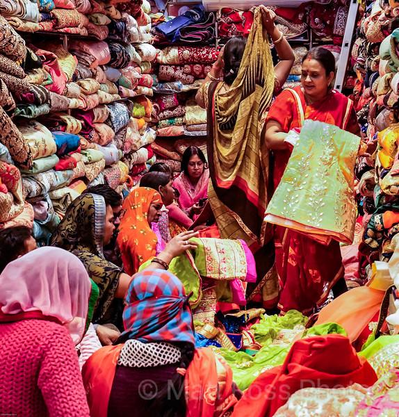 INDIAN FABRIC SHOPPING