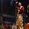 HINDU PRIEST - PANDIT, GANGA AARTI III