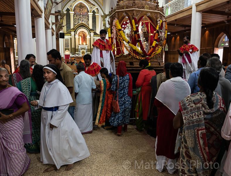 CHRISTIAN CHURCH, BASILICA IN KERALA