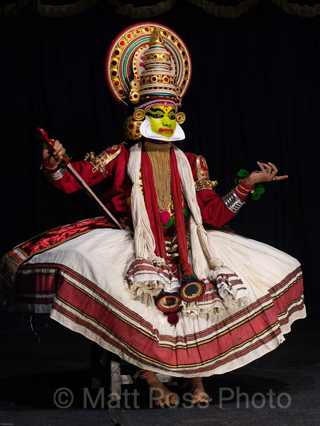 KATHAKALI DANCER II