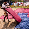DHOBI KHANA, MAN WASHING CLOTHES III