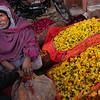 FLOWER SELLER, FLOWER MARKET, JAIBPUR