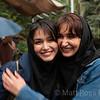 WOMEN TOURISTS, TEHRAN