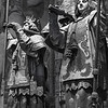 KNIGHTS OF CASTILLE AND ARAGON (?), CARRYING TOMB OF COLUMBUS, SEVILLE CATHEDRAL
