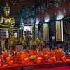MONKS, BUDDHIST TEMPLE