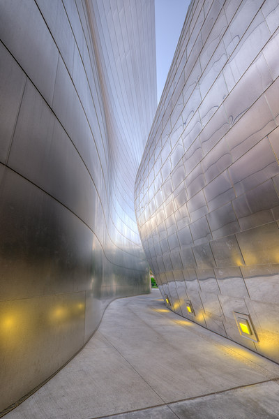 Walt Disney Concert Hall, Los Angeles - a Frank Gehry building