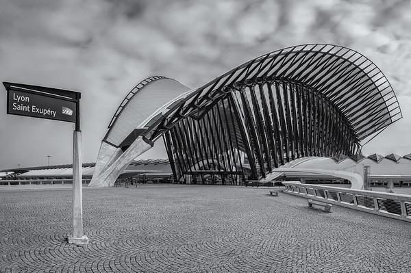 Lyon Saint Exupery TGV station