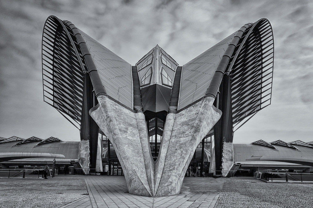 Spaceship or Train station, Lyon Saint Exupery