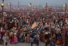 Pilgrims. Maha Kumbh Mela 2013, Allahabad, India