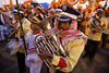 Brass band. Maha Kumbh Mela 2013, Allahabad, India
