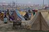 Tent camp. Maha Kumbh Mela 2013, Allahabad, India