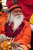 Guru. Maha Kumbh Mela 2013, Allahabad, India