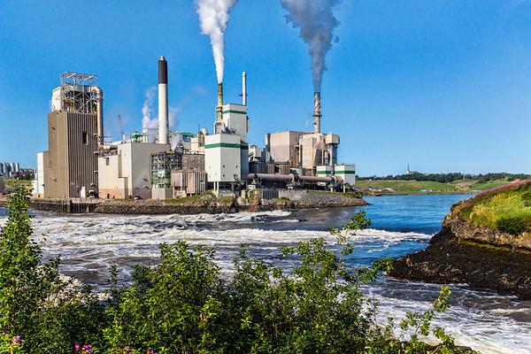 Canada; New Brunswick; Pulp Facility; St. John; The Bay of Fundy