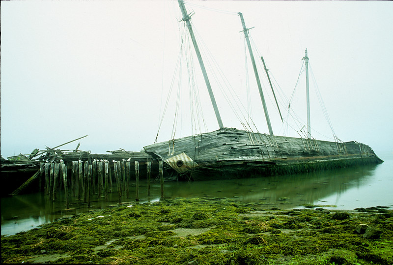 Wiscasset Boat Wreck