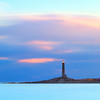 Cape Ann North Light on Thacher Island at Sunrise in Rockport Massachusetts