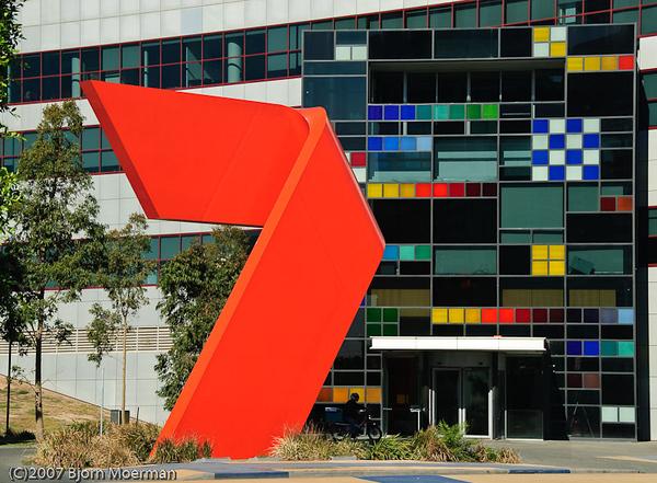 Network 7 building, Melbourne, Australia
