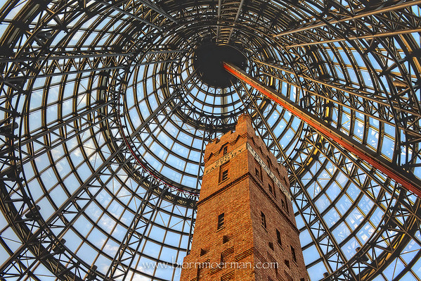 Leadpipe & Shot tower, Central shopping mall, Melbourne