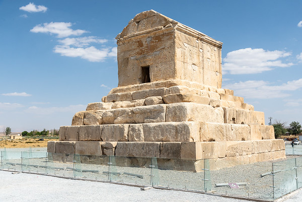 Tomb of Cyrus the Great in Pasargadae, Iran - one of the UNESCO world heritage sites