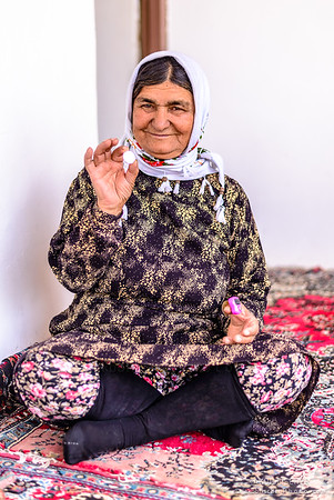 Iranian woman in Orost