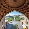View over Naqsh-e Jahan in Isfahan