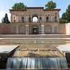 MAHAN, IRAN - SEP 12, 2016: Shazdeh Garden of Mahan, Iran - one of the UNESCO world heritage sites