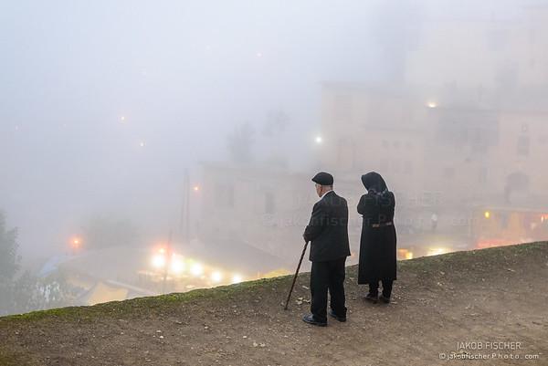 Elderly couple in Masouleh