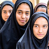 Iranian girls in Mahan